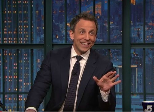 Seth Myers shares hilarious birth story